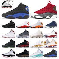 Chaussures de basket-ball 13S Jumpan Hommes Formateurs Femmes Hyper Roya Red Flint Starfish Black Cat Bred Aire de jeu DMP Sports de sport en plein air Sneaker