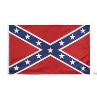 Direct Factory Commercio all'ingrosso 3x5fts ribelle confederato flag Dixie South Alliance Guerra civile Banner storico americano 90x150cm OWB5797