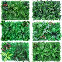 인공 잔디 웨딩 장식 벽 야외 실내 DIY 잔디 모스 그린 식물 장식 꽃 화환