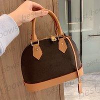 Luxurys 디자이너 고품질 숙 녀 2021 쉘 가방 핸드백 여성 패션 어머니 Cossbody 휴대 전화 지갑 totes 작은 지갑 핸드백 금속 숄더 가방