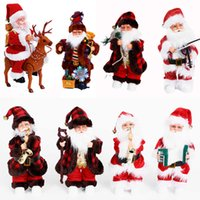 1pc Santa Claus Electric Music Doll Children's Toys Singing And Dancing Toys Birthday Gift New Year Navidad Home Decoration G0930