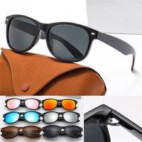 Бренд Поляризованные дизайнер Солнцезащитные очки Мужские Женщины Роскошные Пилоты Солнцезащитные Очки UV400 Очки Металлическая Рамка Поляроидные Очки Солнцезащитные Очки