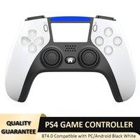 Bluetooth Oyun Denetleyicisi PS4 Kablosuz Şok Kontrolörleri PlayStation Joystick Gamepad PS5 Görünüm Perakende Paketi ile