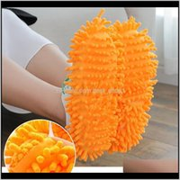 Wholesale Mopping Shoe Cover Multifunction Solid Dust Cleaner House Bathroom Floor Shoes Cover Cleaning Mop Slipper 6 Colors Ewe2961 X D3Dhq