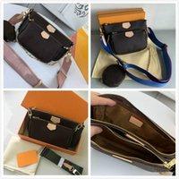 Luxus Klassische Mode Marke Designs Frauen Taschen Handtasche M44813 Top Qualität Rindsleder Schulter Triad Mahjong Packung Hobo Geldbörse Kommen Sie mit Kiste