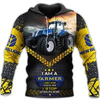 Women's Hoodies & Sweatshirts Fashion Men Clothes I Am A Farmer 3D All Over Printed Casual Unisex tops 3D2Z