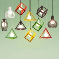 Pendant Lamps Vintage Loft LED Hanging Light For Corridor E27 Indoor Retro Chandelier Lamp Living Room Aisle Kitchen Bar 110-220V
