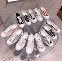 고전적인 품질 여성 신발 Espadrilles 스니커즈 인쇄 걷기 운동화 자수 캔버스 낮은 상단 플랫폼 신발 소녀 home011 08