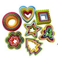 Kreative 5/6 Stück Kunststoffform Cookie-Kuchen Cut The Plum Blossom Die Schneidempfeife Cookie Cutter-Formteig Gemüseschnitt HWE6720