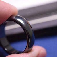 """ring Hematite - [6T arc] """"magnetic   Bracelet magnetic"""