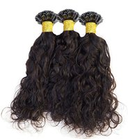 U Tip Hair Extensions 1g Strands Malaysian Remy Hairs Natural Wave Machine Made