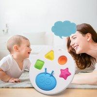Baby Fidget بسيط الدمل الحسي اللعب سيليكون التقليب مجلس الدماغ المضايقين أفضل الهدايا لعبة تعليمية للأطفال والبالغين