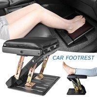 4Level einstellbare Auto Fußstütze mit abnehmbarem Weichstuhl max-last 120lbs faltbarer Stuhl Fußstütze-Stuhlstuhl mit Massieren von Perlen