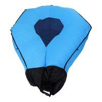 1 قطعة شاطئ حصيرة نفخ أريكة الهواء المحمولة سرير مزدوج للأكياس النوم في الهواء الطلق