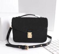 2021 뜨거운 판매 새로운 고품질 가죽 디자이너 여성의 럭스 핸드백 Pochette Metis 어깨 가방 크로스 바디 가방 메신저 가방 M40780