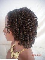U جزء فضفاض مجعد الشعر البشري الباروكات بيرو upart الباروكة شعر الإنسان مجعد 150٪ الكثافة الجزء الأوسط للنساء السود