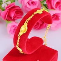 Groothandel spot Europese vergulde gelukkige kralen engel lucky tas bloem aap ornament Koreaanse Koreaanse armband armband voor vrouwen