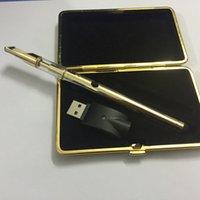 Bobine BVC Cartouche de verre Vape Stylo CIG ET Kit de départ Gold 92A3 Établissement de l'huile épais jetable avec chargeur 280MAH Bouton Touch Batterie