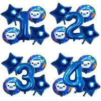 Confetti The The Theme The Party Decoration Количество баллона набор ребенка с днем рождения фея мультфильма фигура алюминиевые шары