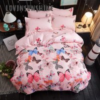 Bedding Sets LOVINSUNSHINE Comforter And Bed Colorful Butterfly Themed Duvet Cover King Size AB#21