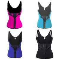 Femmes Corps Shaper Fitness Taille Support Tummy Contrôle Tyist Trainateur Cincher Sous-bacs Corset Shapeear Gym Sportwear 474 x2