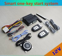 12V general-purpose car one-key start passive keyless entry rfid alarm system modification automatic induction