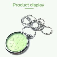 Подвесной квантовый Chi из нержавеющей стали подвесной био диск энергетический пластинчатый ожерелье