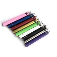 Evod Twiest Переменный напряжение аккумулятор E-сигарета батарея E-сигарета 650 мАч 900 мАч 1100 мАч Емкость для MT3 CE4 CE5 CE5 CE6 Распылитель 9 цветов
