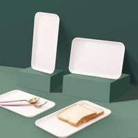 29 * 17 Weiß Kunststoff Last Nordic Einfache Multifunktionale rechteckige Lagerung Home Küche Badanforderungen Frucht Dessert Schublade