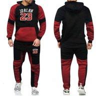 Costume masculin, marque, vêtements de sport en deux pièces, veste à manches longues et pantalons, vêtements de sport de loisirs 2021