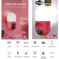 1080 P Akıllı Güvenlik IP WiFi Kamera Duvar Lambası Açık Kapalı Ayarla İşlev