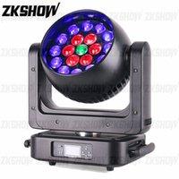 80% Discount2PCS Lot 19*25W ZOOM Wash LED Moving Head Light for DJ Disco Party Nightclub Wedding Show Event Studio Rental Stage Lighting