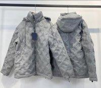 رجل مصممين الملابس هوديي جيوب إلكتروني التمويه الطيار سترة رجل الشتاء معاطف الرجال المصممين البلوزات الرجال S الملابس رمادي 02