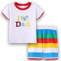 Pajamas Baby Set Homewear Cartoon Cotton Children's Sets Boy T-shirts Short Pants Kids' Clothing Summer Pyjamas Nightwear
