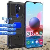 "Bison N1 Smartphone 7.0"" Cellphones Android phones Fingerprint Face Unlock Dual Camera 4G 5G Smart Mobile Cell Phone Global Version"