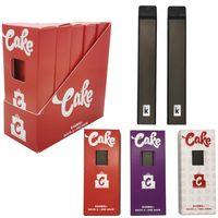 Cake Delta 8 Disposable E cigarettes Device 280mAh full gram 1.0ml Capacity Rechargable Vape Pen Bottom USB port Disposables E-cigarette with box