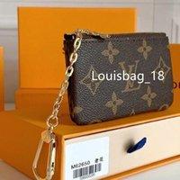 "Luxurys 디자이너 동전 주머니 남자 여성 동전 지갑 키 지갑 미니 지갑 신용 카드 지갑 일련 번호 M62650 GG ""LV""Louis ... Vitton ""YSL ... Vutton"