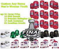 2021 Stanley Cup final Montreal Canadiens Gelo Hóquei Jerseys Joel Armia Jersey Eric Staal Jake Evans Michael Frolik Corey Perry Perry Costume Tamanho S-XXXL