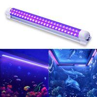 LED UV Black Light Fixtures 10W DJ Strip Lights Effect Leds Stage Purple Tube integrata per Disco a barretta Club Party Body Paint