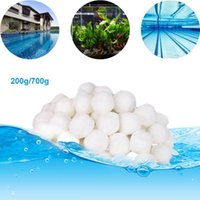 200 600 700g White Filter Balls Pool Cleaning Swimming Equipment Water Purification Fiber Cotton Ball & Accessories
