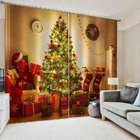 Занавес Drapes Custom 3D Рождественские занавески для гостиной Спальня Домашний декор Носка дизайн Cortinas