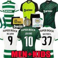 Sporting CP 21 22 Lisboa Jerseys de fútbol Lisboa JOVANE SARABIA Vietto Coates Acuna 2021 2022 Sporting Clube de Home Away Tercera camisa de fútbol Maillots de los pies Tops Tercero