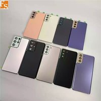 """Original New 6.3"""" Back Glass Replacement For Samsung Galaxy S21 Plus Battery Cover Rear Door Housing Case 9 Colours + Sticker + LOGO"""