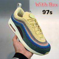 2021 상자 1 / 97s 숀 Wotherspoon 남자 실행 신발 SW 최고 품질 낮은 패션 럭셔리 남성 운동화 여성 트레이너 미국 5.5-12