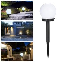 Solar Lamps 2 4 Pcs LED Power Outdoor Garden Lamp Lawn Road Courtyard Ground Lights For Home Adornment