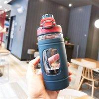 Bouteille d'eau de sport 550ml BPA Free Free Shanceweight Bouteilles légères de tritua pour le camping en plein air Gym BWA4323