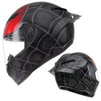 Capacetes de motocicleta Venom Capacete fora da estrada motocross profissional face completa montando alto risco esportivo cabeça proteção x310