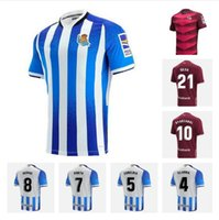 21/22 Gerçek Sociedad Futbol Forması 2021 Home Merino Portu Oyarzaba Maillots de Foot Gömlek Uzakta X.Prieto Silva Willian J Januzaj Isak Futbol