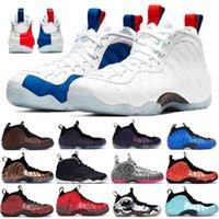 Top espumas knicks posite um pro EUA homens homens basquete sapatos preto branco alternar galáxia roxo camo pennt haveraway esporte funcionando sneakers