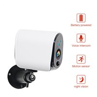 Cameras 1080P 100% Wire-Free Battery IP Camera Rechargeable Powered Home Surveillance IP65 Waterproof WiFi